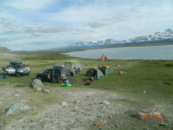 Мобильный лагерь