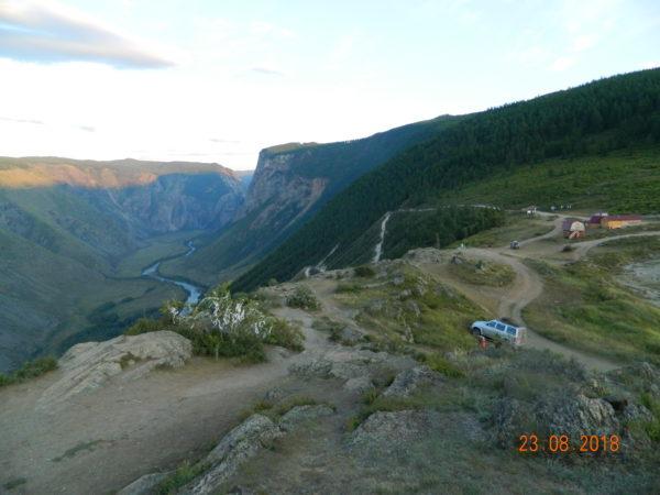 Величие Члышманского каньона